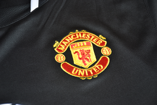 MANCHESTER UNITED  2003 2005  AWAY BLACK  JERSEY