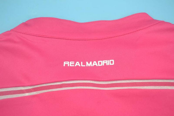 REAL MADRID 2014 2015 HOME JERSEY  PINK LONG SLEEVE