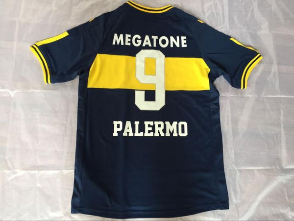 BOCA JUNIORS 2007 PALERMO 9 HOME JERSEY