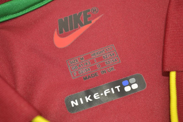 PORTUGAL 1998 WORLD CUP HOME JERSEY