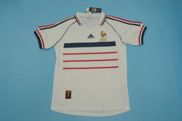 FRANCE 1998 WORLD CUP AWAY JERSEY
