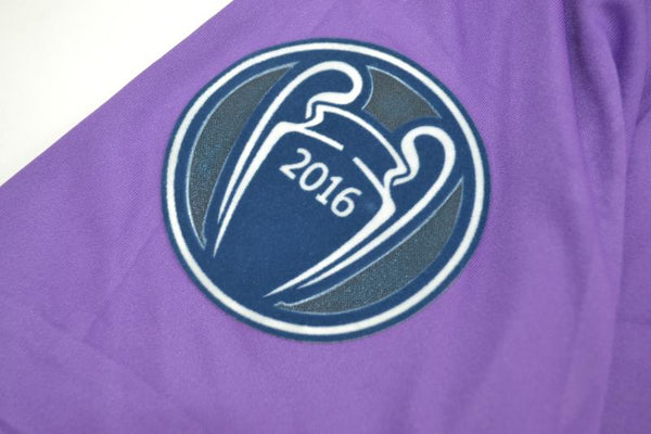 REAL MADRID 2016-2017 UEFA CHAMPIOS LEAGUE AWAY JERSEY