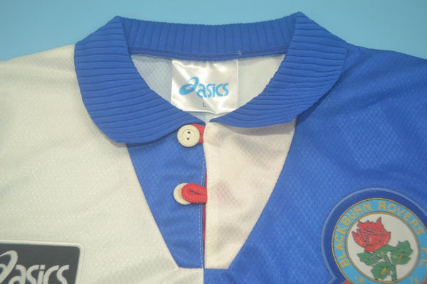 BLACKBURN 1995 1996 SHEARER 9 HOME  JERSEY