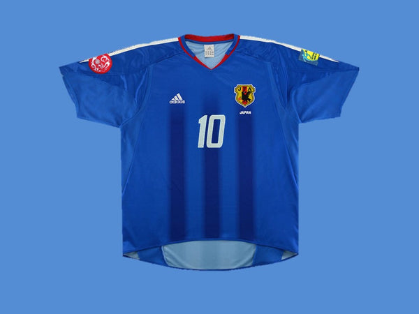 JAPAN 2004 NAKAMURA 10 ASIAN CUP HOME  JERSEY
