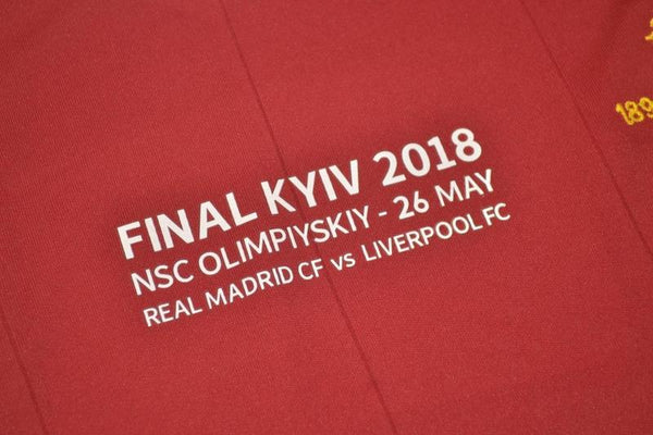 LIVERPOOL 2017 2018  UCL FINAL HOME  JERSEY