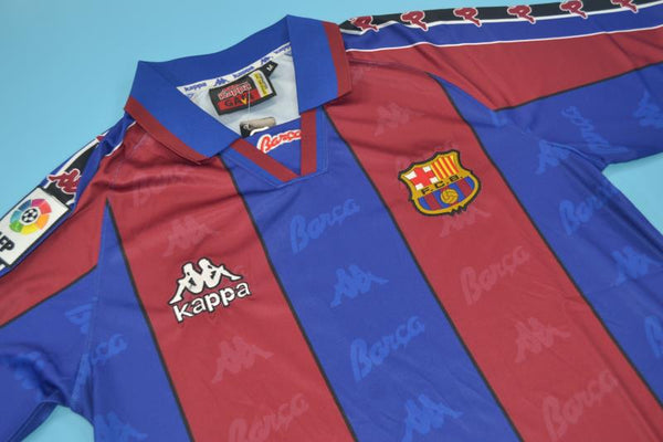 FC BARCELONA 1996 1997 GUARDIOLA 4 HOME JERSEY