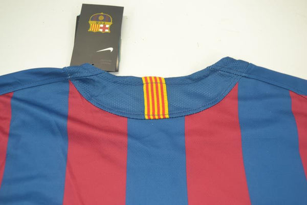 FC BARCELONA 2006 PUYOL 5 UCL FINAL HOME JERSEY