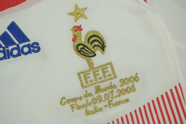 FRANCE 2006 WORLD CUP ZIDANE 10 AWAY JERSEY