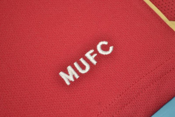 MANCHESTER UNITED 2006 2007 CHAMPIONS LEAGUE HOME JERSEY