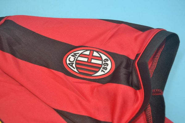 AC MILAN 1996 HOME JERSEY SERIE A PATCH