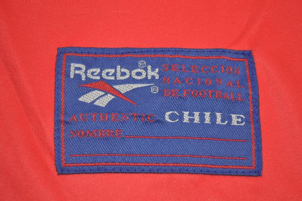 CHILE 1998 SALAS 11 WORLD CUP HOME JERSEY
