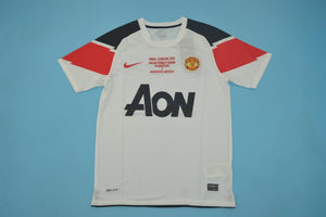 60cd3ea4592 Sale. MANCHESTER UNITED 2010 2011 UCL FINAL AWAY FOOTBALL SHIRT JERSEY  CAMISETA