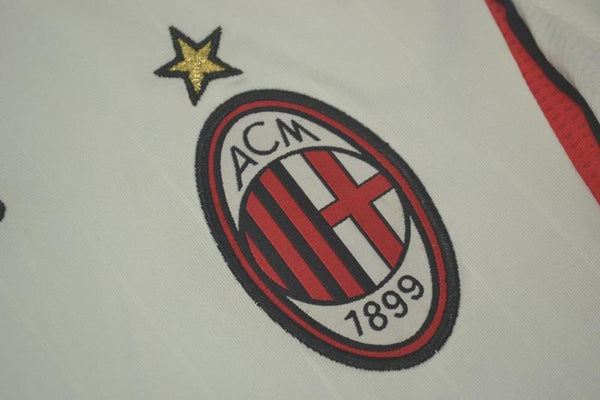 AC MILAN 2006 2007 GATTUSO 8 LONG SLEEVE AWAY JERSEY