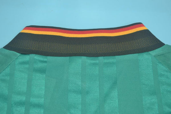 GERMANY 1992 VOLLER 9 AWAY JERSEY