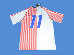 DENMARK 1986 NUMBER 11  AWAY JERSEY
