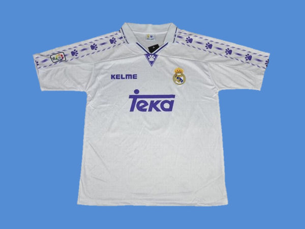 REAL MADRID 1996 1997 HOME JERSEY