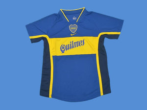 BOCA JUNIORS 2001 HOME  JERSEY