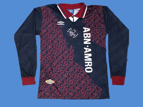 AJAX 1994 1995 UCL FINAL LONG SLEEVE JERSEY