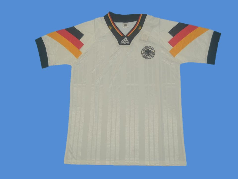 GERMANY 1992 1994 HOME JERSEY