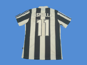 NEWCASTLE 1995 1996 1997 ASPRILLA 11 HOME JERSEY