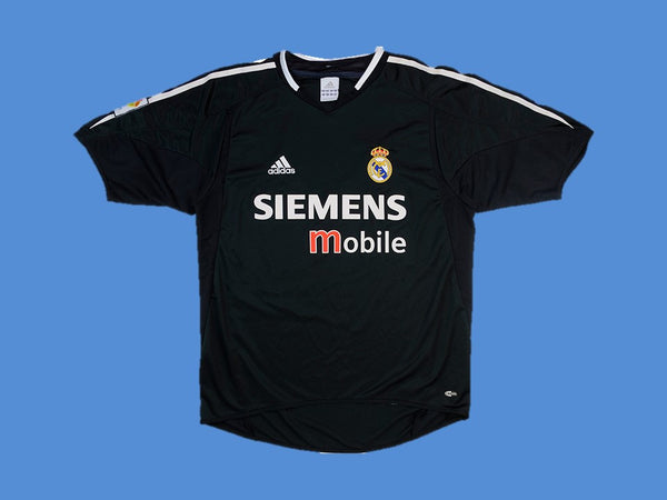 REAL MADRID 2004 2005 AWAY JERSEY
