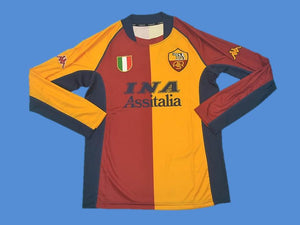 AS ROMA 2001 2002 HOME JERSEY