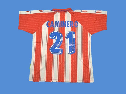 ATLETICO MADRID 1994 1995 CAMINERO 21 HOME JERSEY
