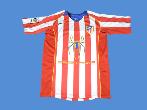 ATLETICO MADRID 2004 2005 HOME JERSEY