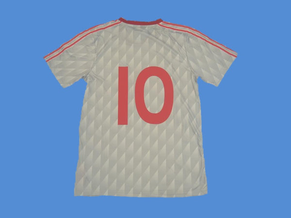 LIVERPOOL 1989 1990 NUMBER 10 AWAY JERSEY