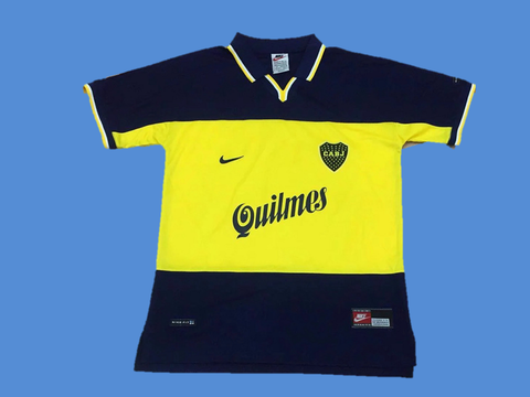 BOCA JUNIORS 1999 HOME  JERSEY