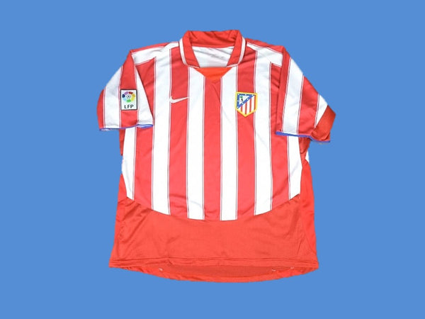 ATLETICO MADRID 2003 2004 HOME JERSEY