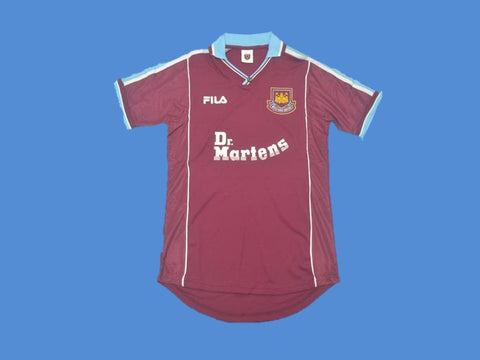 WEST HAM  UNITED 1999 2001 HOME JERSEY