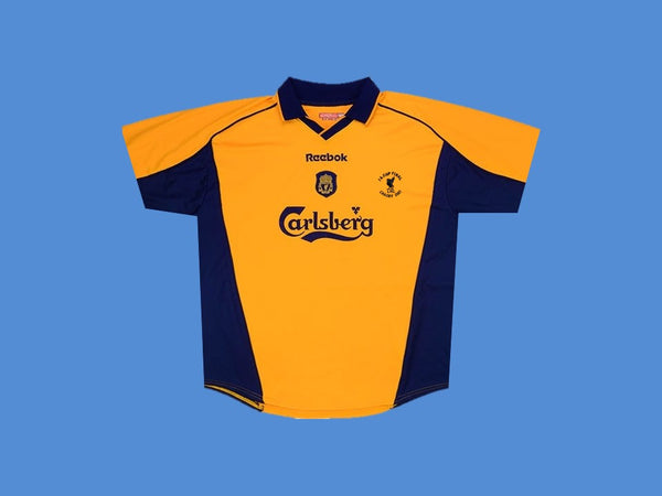 LIVERPOOL 2000 2001 F.A CUP FINAL AWAY JERSEY