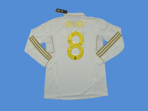 REAL MADRID 2011-2012 KAKA 8   HOME JERSEY