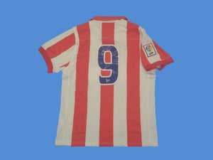 ATLETICO MADRID  2002 2003 NUMBER 9 HOME JERSEY CENTENARIO