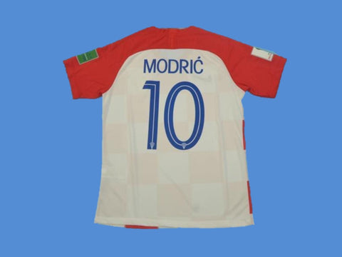CROATIA 2018 WORLD CUP HRVATSKA MODRIC 10 HOME FINAL JERSEY