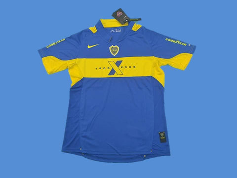 BOCA JUNIORS 2005 HOME  JERSEY