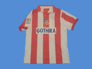 ATLETICO MADRID  2002 2003  HOME JERSEY CENTENARIO