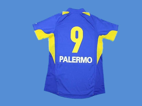 BOCA JUNIORS 2005 PALERMO 9 HOME JERSEY