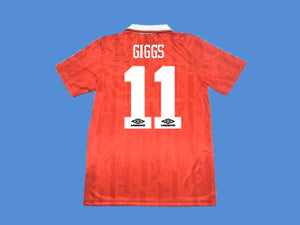 MANCHESTER UNITED 1994 GIGGS 11 HOME JERSEY