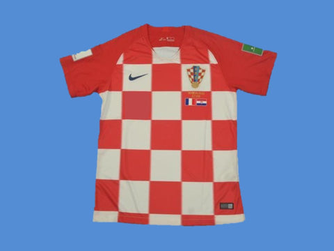 CROATIA 2018 WORLD CUP HRVATSKA  HOME FINAL JERSEY