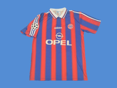 BAYERN MUNICH 1995 1997 HOME  JERSEY CHAMPIONS LEAGUE