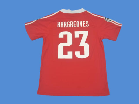 BAYERN MUNICH 2001 HARGREAVES 23 HOME JERSEY