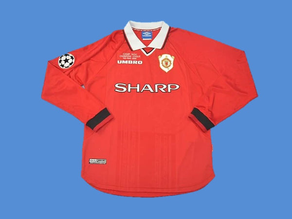 MANCHESTER UNITED 1999 UCL FINAL LONG SLEEVE HOME JERSEY