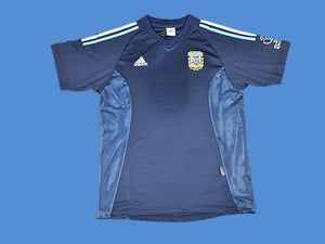 ARGENTINA 2002 WORLD CUP AWAY  JERSEY