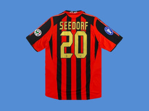 AC MILAN 2005 2006 SEEDOR 20  HOME JERSEY