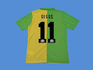 MANCHESTER UNITED 1992 1993 1994 GIGGS 11 AWAY JERSEY