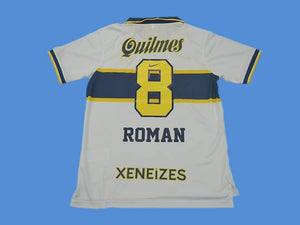 BOCA JUNIORS 1996 1997 ROMAN 8 AWAY JERSEY