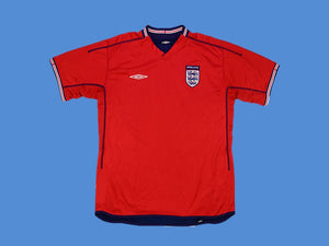 ENGLAND 2002 HOME JERSEY