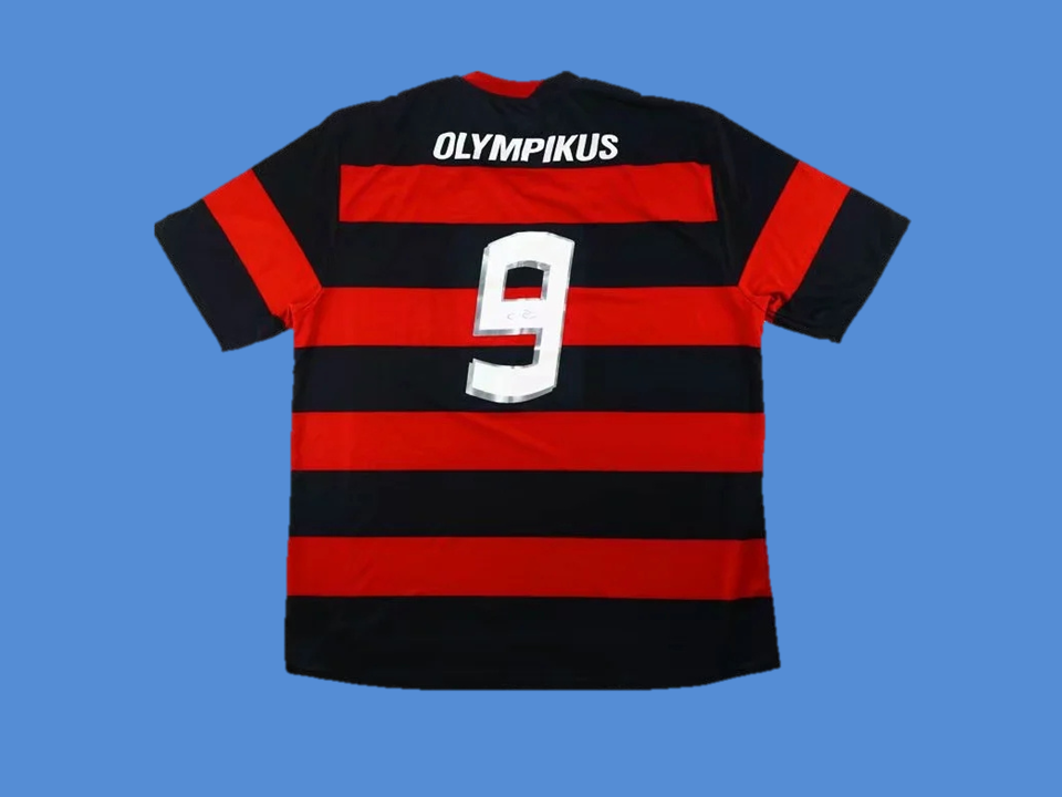 FLAMENGO 2009  NUMBER  9 HOME JERSEY